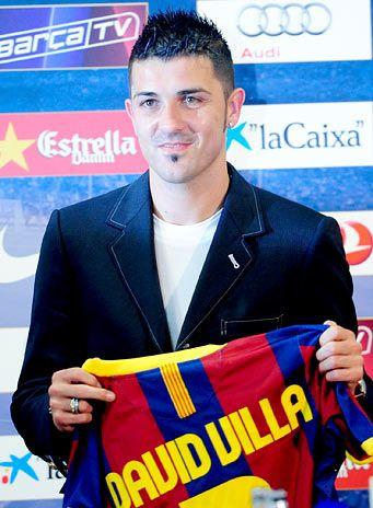 Villa cumple su sueño , y se va al Barça